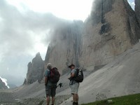 alpine self guided walking Tre-Cime-di-Lavaredo
